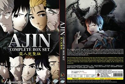 AJIN Paket | S1+S2+Movie | Episodes 01-26+1 | English Subs | 3 DVDs in 3 Sets-LU