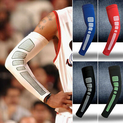 Arm Sleeve Basketball Sport Elbow Dri-Fit Support Compression Exercise Protector