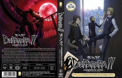 DURARARA!! Deluxe Paket | TV S1+S2+S3+S4+OVAs! | 65 Eps. | 10 DVDs in 6 Sets-LU