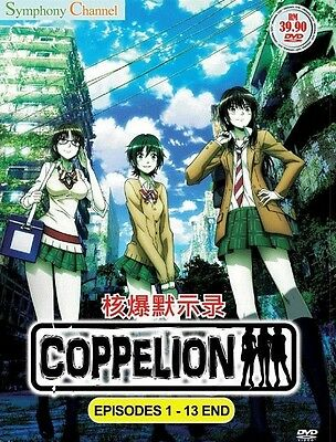 COPPELION | Episodes 01-13 | English Subs | 1 DVD (SC-C001)-LU