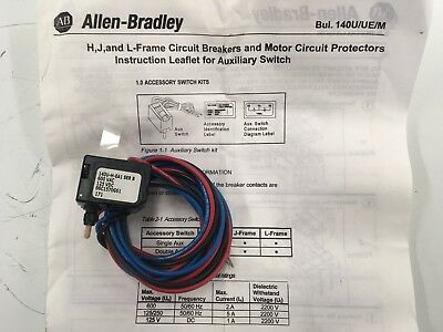 ALLEN-BRADLEY 140U-H-EA1 Auxiliary Contact Series B