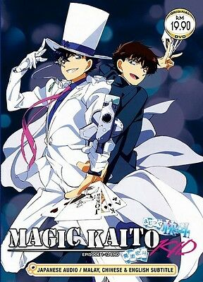 MAGIC KAITO Paket | S1+S2 | Episodes 01-24 | English Subs | 2 DVDs in 2 Sets-LU