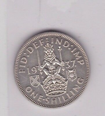 1937 George Vi Proof Scottish Shilling In Mint Condition