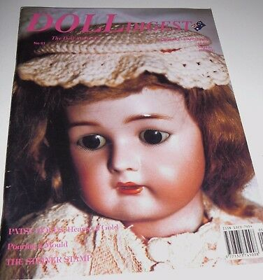 Australian Doll Digest Issue #61 Feb - March 1996 Pouring a mould Tri-ang Prams