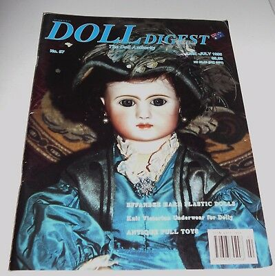 Australian Doll Digest Issue #57 June - July 1995 Knit Victorian Doll Clothes