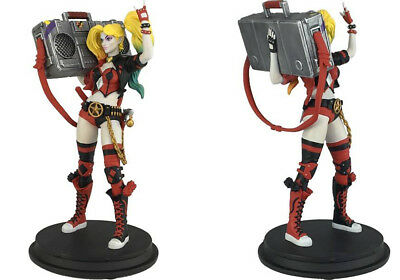 """DC Rebirth 8"""" Harley Quinn w/ Boombox Statue (SDCC 2017 Exclusive)"""