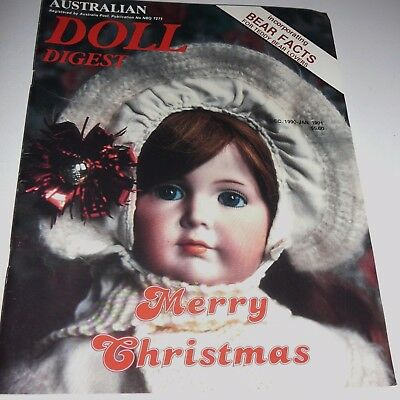 Australian Doll Digest December 1990 - January 1991 Victorian Christmas