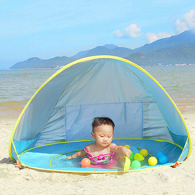 UV Protection Baby Beach Tent Pop Up Portable Shade Pool  Sun Shelter for Infant