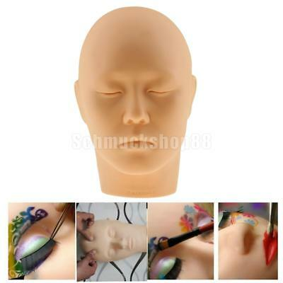 Übung Training Soft Mannequin Kopf Wimper Makeup Tattoo Paint Massage