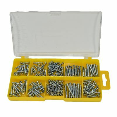 Pozi Drive Countersunk and Philips Slotted Combo Wood Screws Fixings 215pc