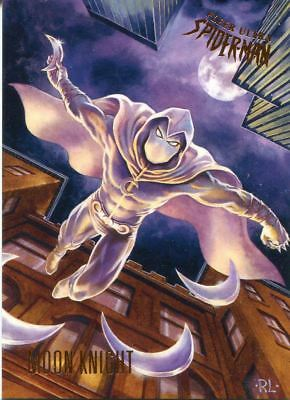 Spiderman Fleer Ultra 2017 Base Card #17 Moon Knight