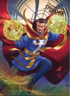 Spiderman Fleer Ultra 2017 Base Card #70 Doctor Strange