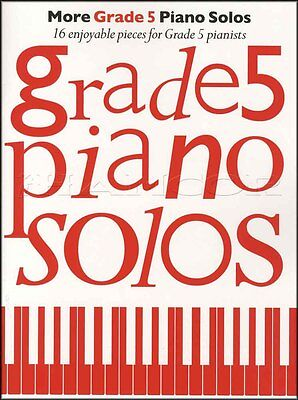 More Grade 5 Piano Solos Sheet Music Book Classical Chopin Coldplay Philip Glass