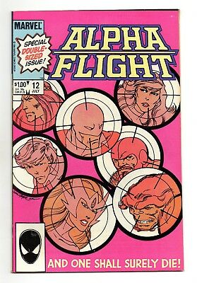 Alpha Flight Vol 1 No 12 Jul 1984 (VFN+) Modern Age (1980-Now)
