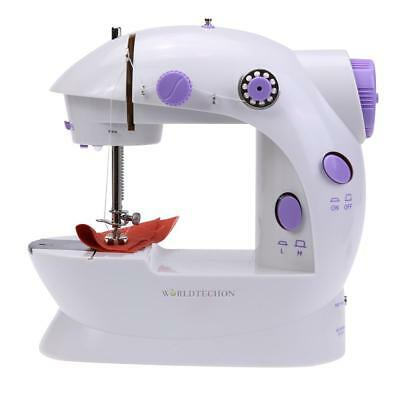 6W 2-Speeds Mini Sewing Machine Convenient Portable Household Sewing Night Light