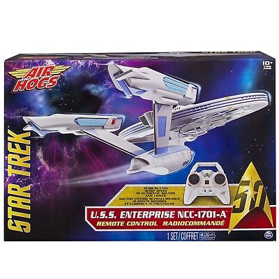 Star Trek ENTERPRISE NCC-1701 Drone Modello R/C MODEL Air Hogs Spin Master NUOVO