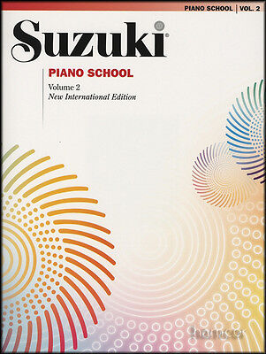 Suzuki Piano School Volume 2 Book Learn How to Play Music Method