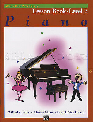 Alfred's Basic Piano Library Lesson Book Level 2 Music Learn How To Play Method