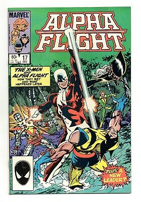 Alpha Flight Vol 1 No 17 Dec 1984 (VFN) Modern Age (1980-Now)