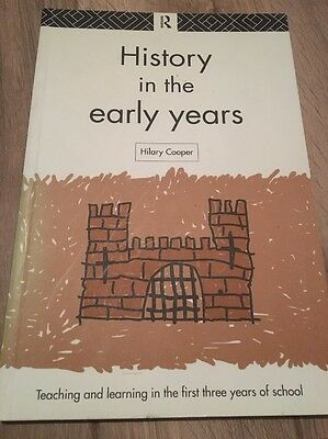 History in the Early Years by Hilary Cooper (Paperback, 1995)