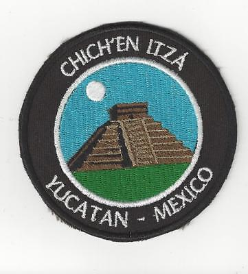 Chich'en Itza, Yucatan Mexico Souvenir Patch