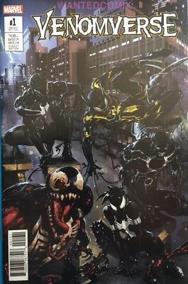Venomverse #1 (Of 5) Crain Connecting Variant Cover Venom Marvel Comic Book New