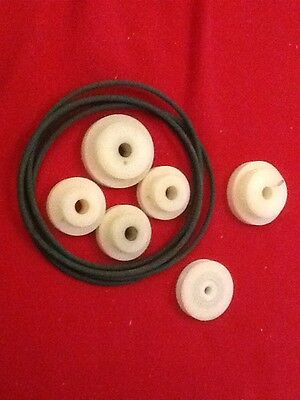 Nylon Pulleys & Belts Assorted