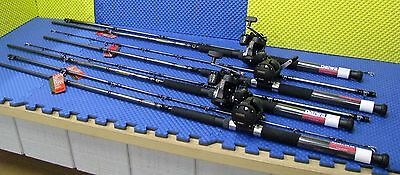 Daiwa 8 ft Line Counter Trolling Combo WLDR802MLR 8'ML /Magda  MA 20D 4 Pack