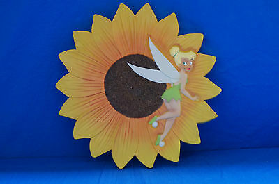 Tinker Bell Sun Flower Wall Hanging Plaque Stepping Stone Peter Pan Disney
