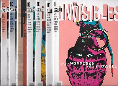 The Invisibles Lot Of 15  #1 #2 #3 #4 #5 #6 #7 #8 #9 #10 #11 #13 #14 #15 #16 Nm-