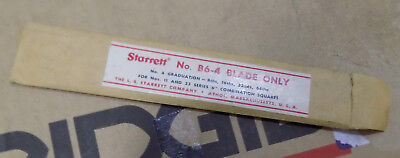 NEW Starrett B6-4R Combination Square Blade Scale Rule USA  Made NEVER USED