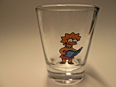 Nice Lisa From The Simpsons Show  Shot Glass