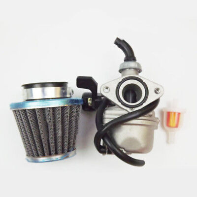 Carburetor &Air filter fits PZ19 50cc 70cc 90cc 110cc ATV Dirt Bike Go Kart Carb