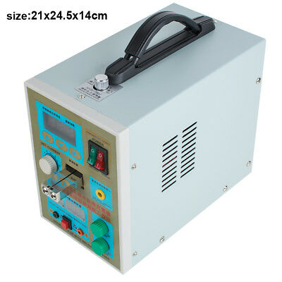 CA&USA LED Dual Pulse Spot Welder 18650 Battery Charger 800A 0.1-0.2 mm 36V 60A