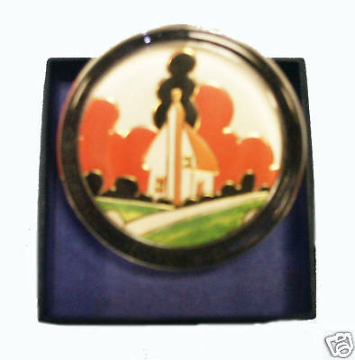 Clarice Cliff Large Paperweight - Farmhouse