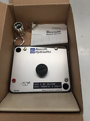 Mannesmann Rexroth Hed30A36/200 Pressure Switch