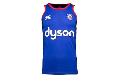 Canterbury Bath Rugby Mens Singlet  /  Vest Size M Xxl Only 4 Left Rrp £23