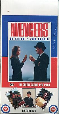 The Avengers In Colour Series 2 Factory Sealed Hobby Box 36 Packs