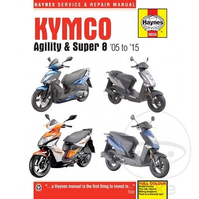 Scooter Haynes Service Repair Manual 6034