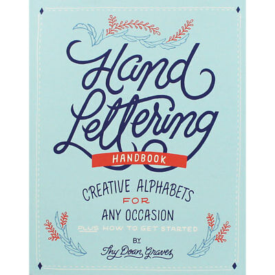Hand Lettering - Creative Alphabets For Any Occasion, Non Fiction Books, New