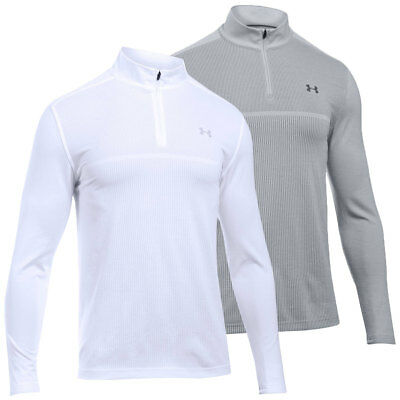 Under Armour 2017 Mens UA Threadborne 1/4 Zip Golf Sweater Pullover -45% OFF RRP