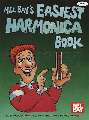 Easiest Harmonica Book Learn How to Play Tutor Method Sheet Music