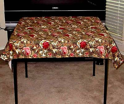 "Longaberger FABRIC SQUARE / Table Cloth / Topper -  48"" - MAJOLICA - NEW!"