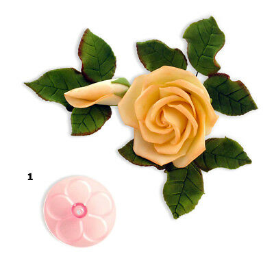 JEM 50mm EASY ROSE Flower Icing Cut Out Cutters Sugarcraft Cake Decoration