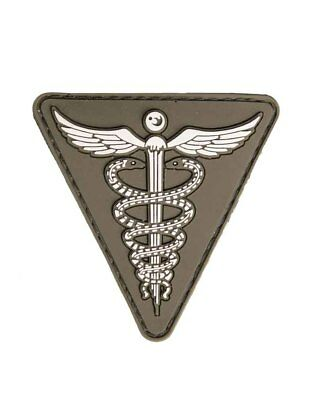 Patch 3D Medical PVC m. Klett, Camping, Outdoor, Military   -NEU-