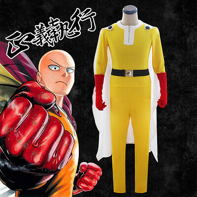 Cosplay ONE PUNCH-MAN Dress Costumes Kostüme 4 Teile NEU