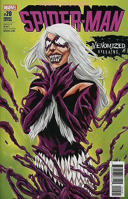Spider-Man #20 Venomized Black Cat Variant Cover Venom Comic Book New 1