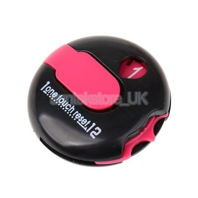 Mini Golf One Reset Counter Clip On Golf Stroke Score Counter Black Pink