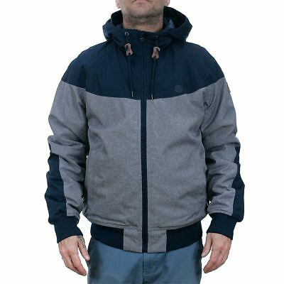 Element Dulcey Trail Jacket Heather Grey Coat New BNWT Free Delivery Huge Range