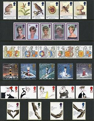 Great Britain 1998 Year Pack Commemorative Stamps Complete Mint Nh As Issued